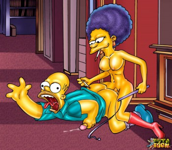 simpsons shemale bdsm sex toon